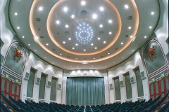 Suspended acoustic systems - StoSilent Distance - large, seamless acoustic surfaces