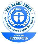 Der Blaue Engel (schützt die Ressourcen)